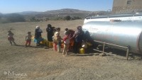 the Emergency WASH Assistance to IDPs and Conflict Affected Populations project in Al-Taizziah district